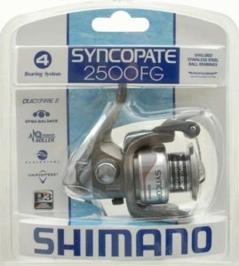 SHIMANO SYNCOPATE ultralight spinning reel