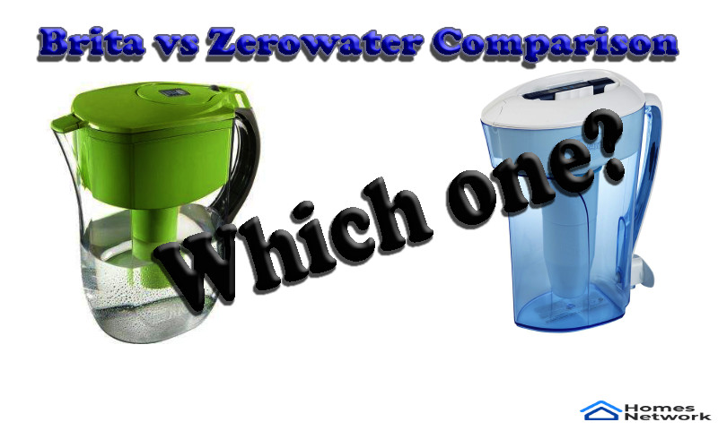 Brita pitcher vs ZeroWater Pitcher
