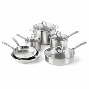 Calphalon Classic Stainless Cookware set