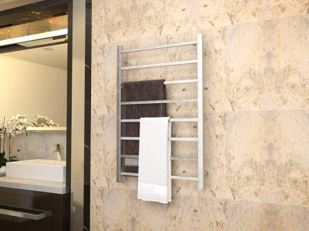 How to use a wall mounted towel warmer