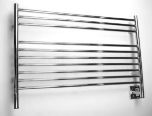 Jeeves Wall Mount Electric L Straight Towel Warmer Finish
