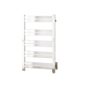 "Naiture 20"" Extra Tall Hardwired Towel Warmer In Brushed Stainless Steel Finish"