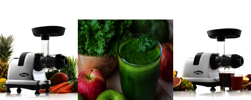 Leafy greens juice Omega J8006HDS vs J8008C