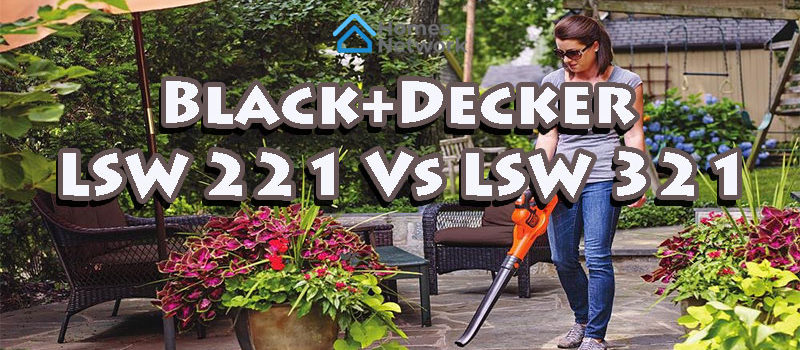 Black+Decker LSW221 VS LSW321-