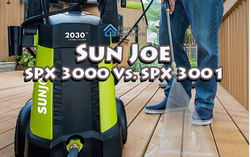 Sun Joe SPX 3000 Vs. SPX 3001: Which Pressure Washer Is Better?