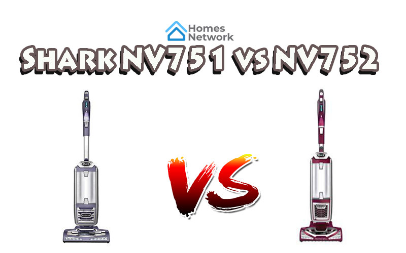 Shark NV751 vs NV752