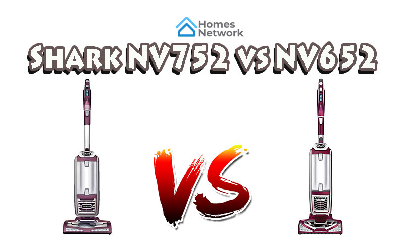 Shark NV752 vs NV652