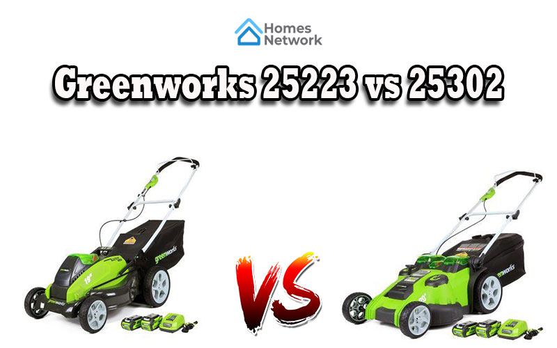 Greenworks 25223 vs 25302
