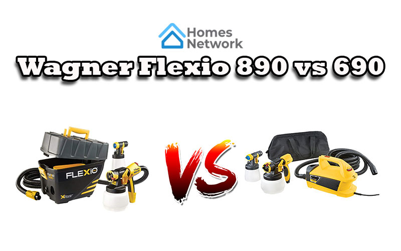 Wagner Flexio 890 vs 690
