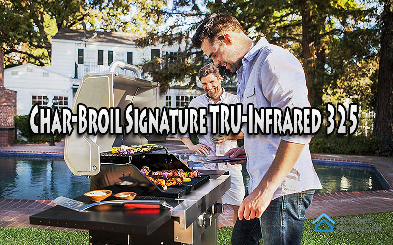 Char-Broil Signature TRU-Infrared 325 2-Burner Cabinet Liquid Propane Gas Grill Review