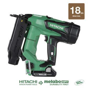 Hitachi NT1850DE 18V Cordless Brad Nailer 18 Gauge