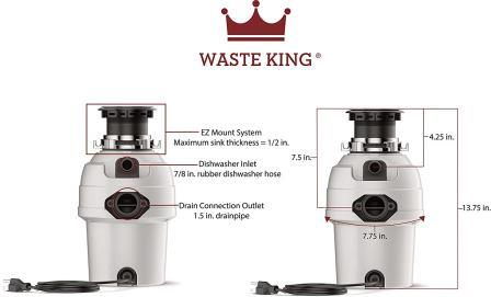 Waste King 3200 Review