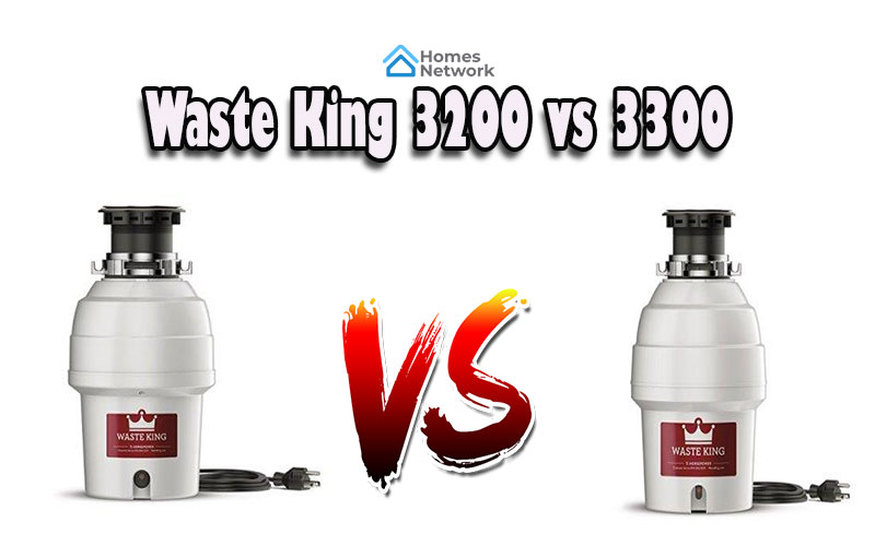 Waste King 3200 vs 3300