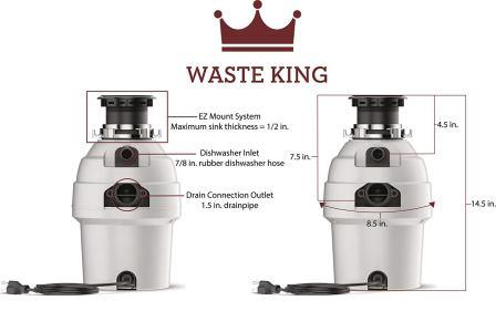 Waste King 3300 review