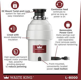 Waste King L-8000 Review