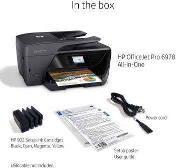 HP OfficeJet 6978 comparison