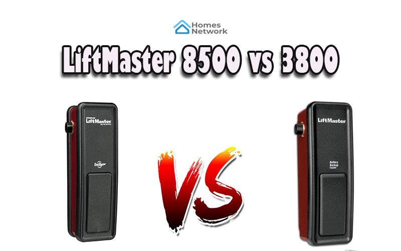 LiftMaster 8500 vs 3800