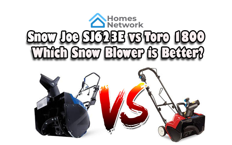 Snow Joe SJ623E vs Toro 1800