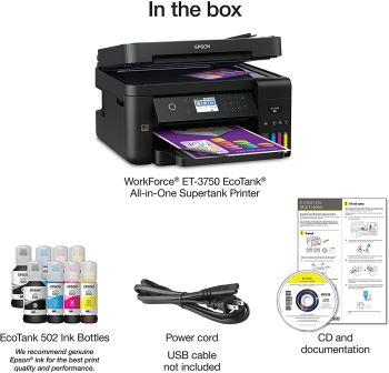 epson 3750 and Epson 4750 included
