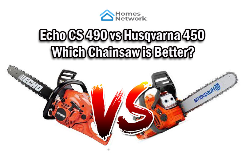 Echo CS 490 vs Husqvarna 450