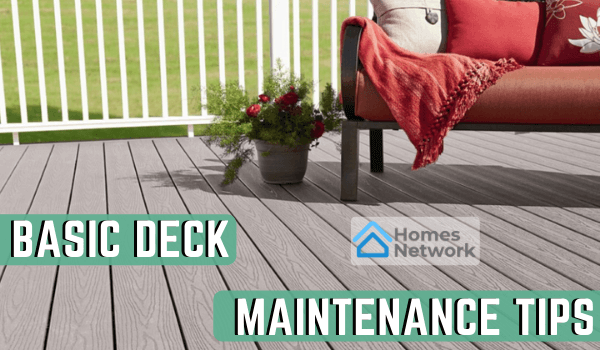Basic Deck Maintenance Tips
