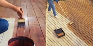 deck paint and sealing