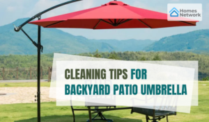 Cleaning Tips for Backyard Patio Umbrella