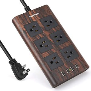10ft 14AWG 15A Surge Protector Power Strip with USB SUPERDANNY