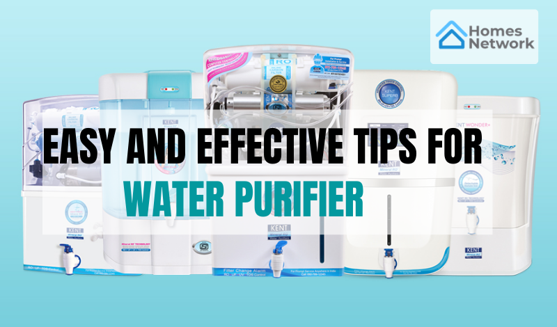 Maintenance Tips for the water Purifier