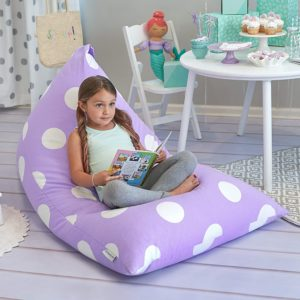 Butterfly Craze Bean Bag Chair Cover & Stuffed Animal Storage Bag
