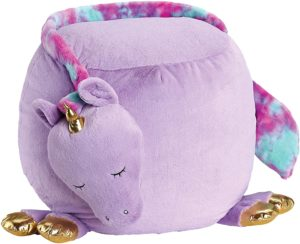 Soft Landing, Bestie Beanbags, Purple Unicorn Character Beanbags